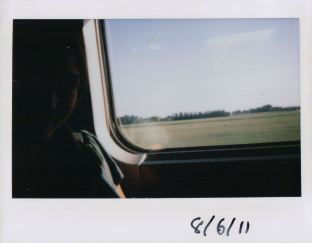 Sj on the Eurostar from Paris
